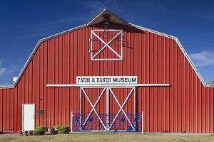 Barn, Farm and Ranch Museum, Elk City, Oklahoma, USA by Walter Bibikow