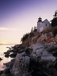 Bass Harbor Head Lighthouse, Acadia Nat. Park, Maine, USA by Walter Bibikow