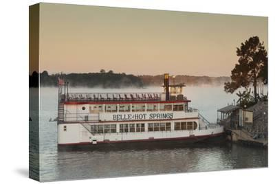 Belle of Hot Spring, Tour Boat at Dawn, Hot Springs, Arkansas, USA