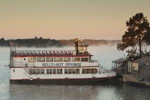 Belle of Hot Spring, Tour Boat at Dawn, Hot Springs, Arkansas, USA by Walter Bibikow