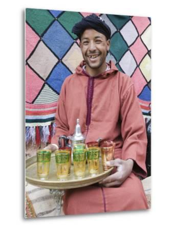 Berber Souvenir Seller, Ait Benhaddou, South of the High Atlas, Morocco