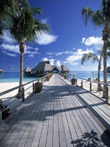 Bora Bora Nui Resort, Bora Bora, French Polynesia by Walter Bibikow