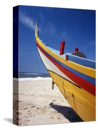 Bow of Fishing Boat, Silver Coast, Mira, Coimbra District, Portugal