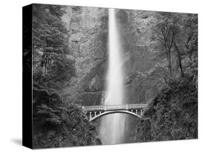 Bridge, Multnomah Falls, Columbia Gorge, Oregon, USA