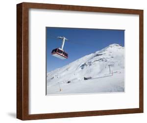 Cable Car, Rothorn Peak, Blauherd, Zermatt, Valais, Wallis, Switzerland by Walter Bibikow