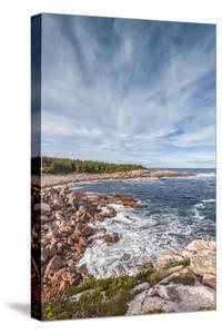 Canada, Nova Scotia, Cabot Trail. Cape Breton Highlands National Park, Green Cove. by Walter Bibikow