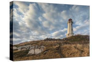 Canada, Nova Scotia, Louisbourg Lighthouse. by Walter Bibikow