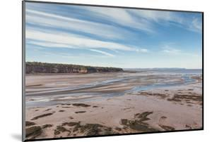 Canada, Nova Scotia, Walton. Low tide on the Minas Basin. by Walter Bibikow