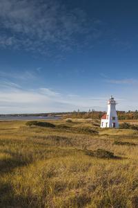 Canada, Prince Edward Island, New London Lighthouse. by Walter Bibikow