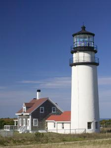 Cape Cod Lighthouse, Truro, Cape Cod, Massachusetts, USA by Walter Bibikow