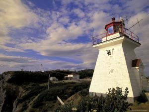 Cape Enrage Lighthouse, New Brunswick, Canada by Walter Bibikow