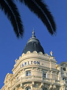 Carlton Hotel, Cannes, Cote d'Azur, France by Walter Bibikow