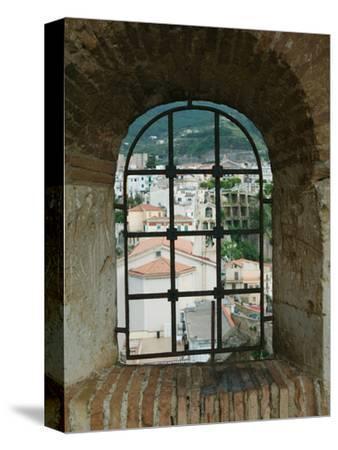 Castello Ruffo, Town View from Castle Window, Scilla, Calabria, Italy