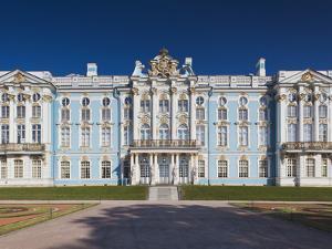 Catherine Palace, Pushkin-Tsarskoye Selo, Saint Petersburg, Russia by Walter Bibikow