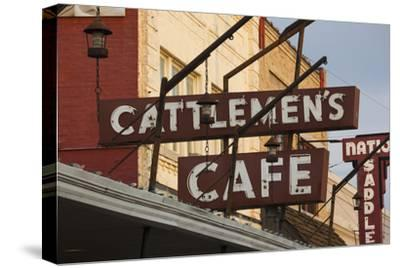 Cattlemen's Cafe Restaurant Sign, Oklahoma City, Oklahoma, USA