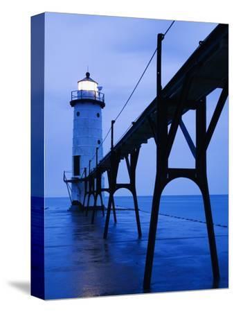 Catwalk to Door of Lighthouse