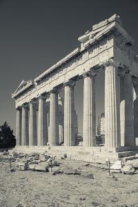 Central Greece, Athens, Acropolis, the Parthenon by Walter Bibikow