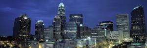 Charlotte, North Carolina, USA by Walter Bibikow