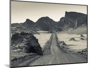 Chile, Atacama Desert, San Pedro De Atacama, Valle De la Luna, Valley Road by Walter Bibikow