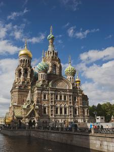 Church of the Saviour of Spilled Blood, Saint Petersburg, Russia by Walter Bibikow