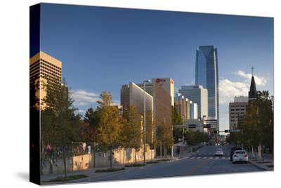 City Skyline, Oklahoma City, Oklahoma, USA
