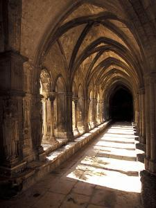 Cloister Detail, Arles, Cloitre St-Trophime, Bouches-Du-Rhone, Provence, France by Walter Bibikow