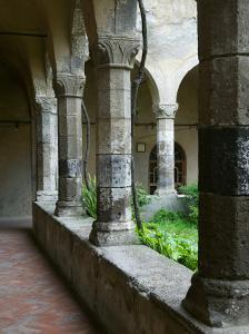Cloister of the San Francesco Church, Sorrento, Campania, Italy by Walter Bibikow