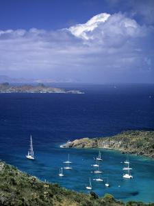 Colombier, St. Barts, French West Indes by Walter Bibikow