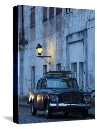Colonia Del Sacramento, Old 1960S Studebaker Lark Car on Calle San Jose, Uruguay