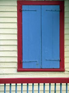 Colourful Facade, Gustavia, St. Barts, French West Indes by Walter Bibikow