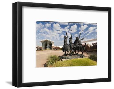 Cowboy Statue, Coming Through the Rye, Oklahoma City, Oklahoma, USA