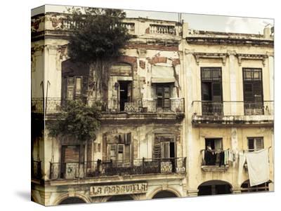 Cuba, Havana, Havana Vieja, Building Detail, Plaza Del Cristo