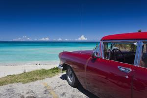Cuba, Matanzas Province, Varadero, Varadero Beach by Walter Bibikow