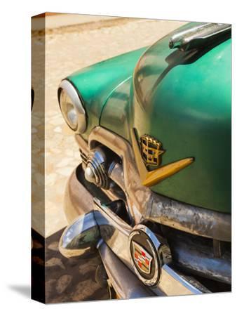 Cuba, Sancti Spiritus Province, Trinidad, 1950s-Era US-Made Cadillac Taxi
