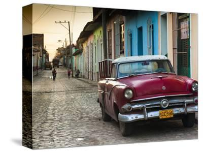 Cuba, Sancti Spiritus Province, Trinidad, 1950s-Era US-Made Ford Car