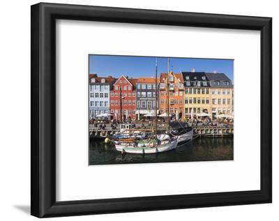 Denmark, Zealand, Copenhagen, Nyhavn Harbor