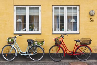Denmark, Zealand, Soro, Traditional Danish Houses, Sogade Street by Walter Bibikow