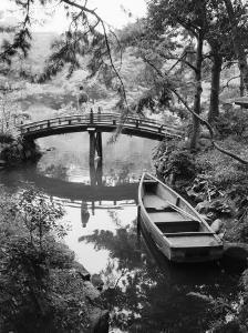 Detail of Shukkei-en Garden, Hiroshima, Japan by Walter Bibikow