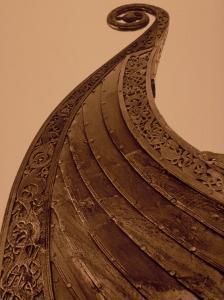 Detail of Viking Ship, Norway by Walter Bibikow