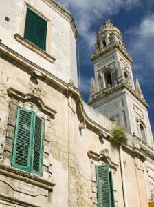 Duomo Campanile, Piazza del Duomo, Lecce, Puglia, Italy by Walter Bibikow
