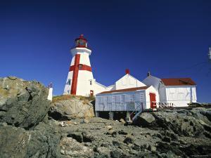 East Quoddy Head Lighthouse, Campobello Island, New Brunswick, Canada by Walter Bibikow