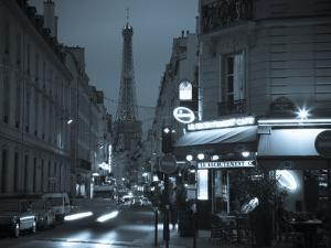 Eiffel Tower, Paris, France by Walter Bibikow