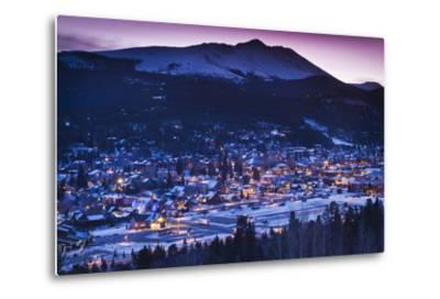 Elevated Town View from Mount Baldy, Breckenridge, Colorado, USA