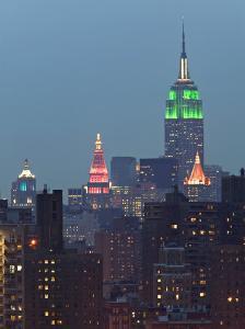 Empire State Bldg, Manhatten, New York City, USA by Walter Bibikow