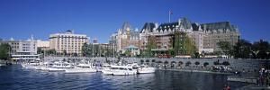 Empress Hotel, Victoria, British Columbia, Canada by Walter Bibikow