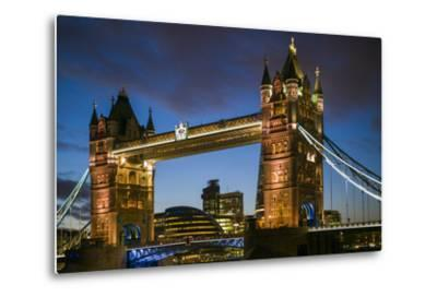England, London, Tower Bridge, Dusk