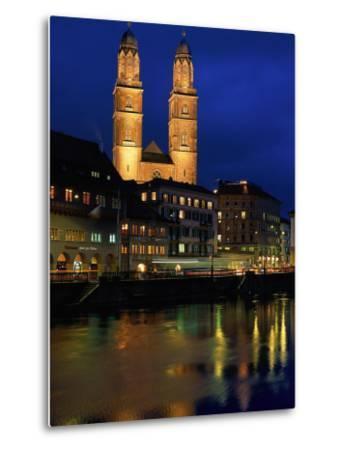 Evening, River Limmat, Zurich, Switzerland