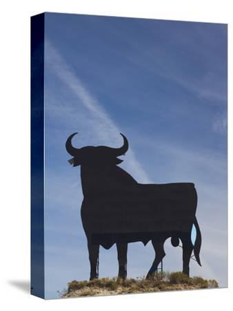 Famous Bull Symbols of the Bodegas Osborne, Puerto De Santa Maria, Spain