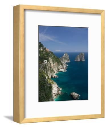 Faraglioni Rocks, Capri, Bay of Naples, Campania, Italy