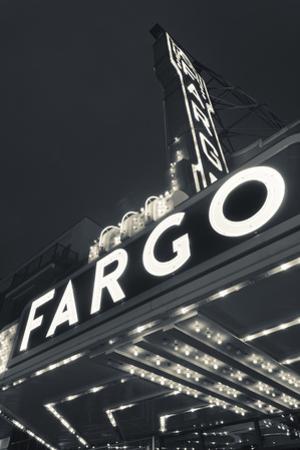 Fargo Theater Sign, Fargo, North Dakota, USA